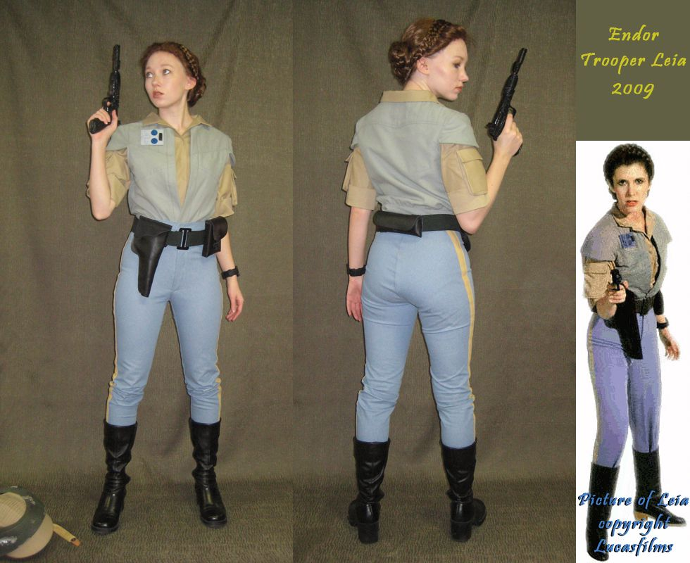 Endor Trooper Leia - Finished by *Verdaera on deviantART  sc 1 st  Pinterest & Endor Trooper Leia - Finished by *Verdaera on deviantART | Star wars ...