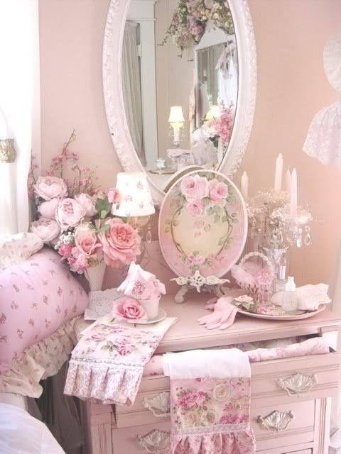 Romantiche idee per arredare il vostro bagno. | Pink Rose ...
