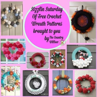 Photo of Free crochet patterns for wreaths STOP research and START crochet …