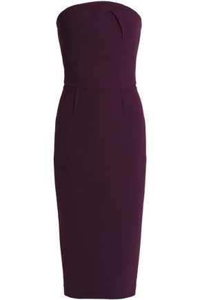 Roland MouretCalcott wool-crepe gown   Strapless dress