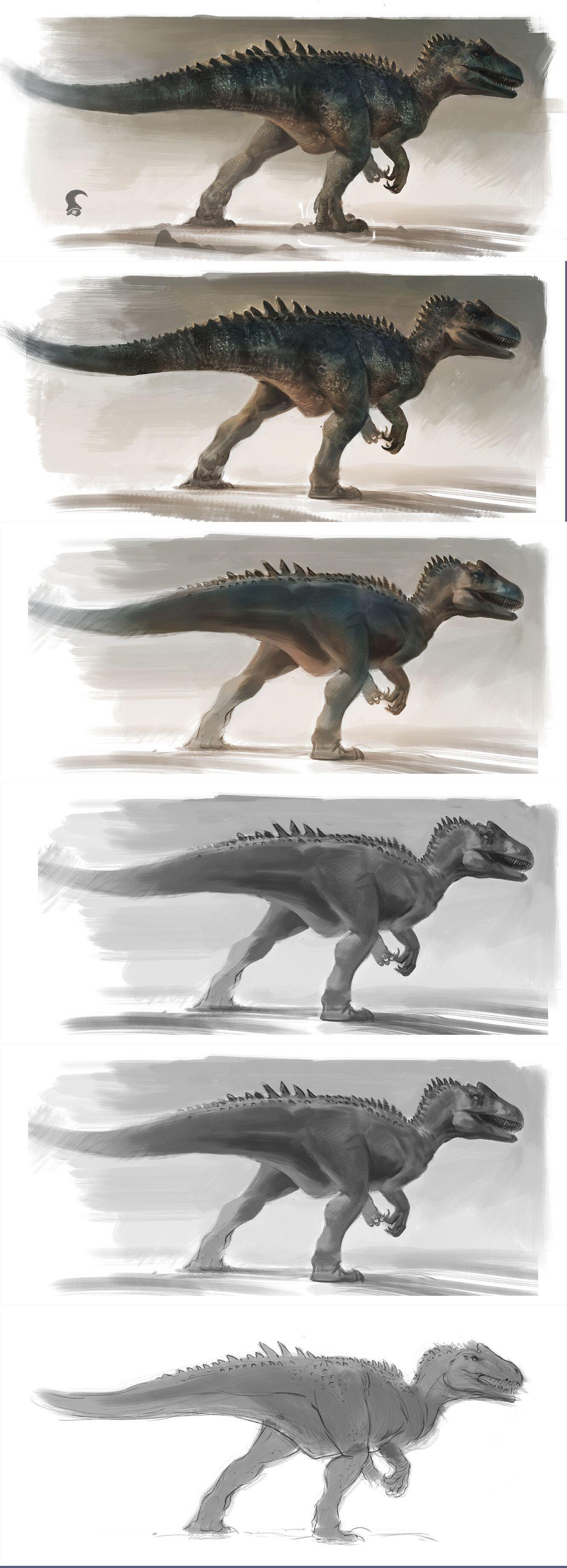 Allosaurus 'Big Rock', Raph Herrera Lomotan