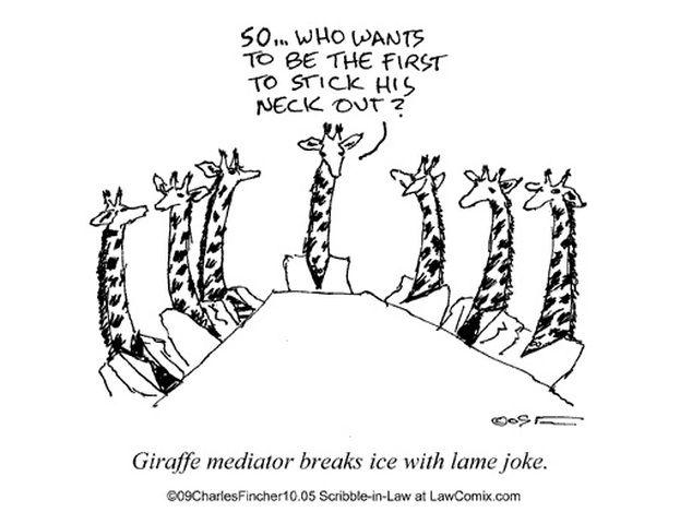 Mediation Lame Jokes Work Humor Legal Humor