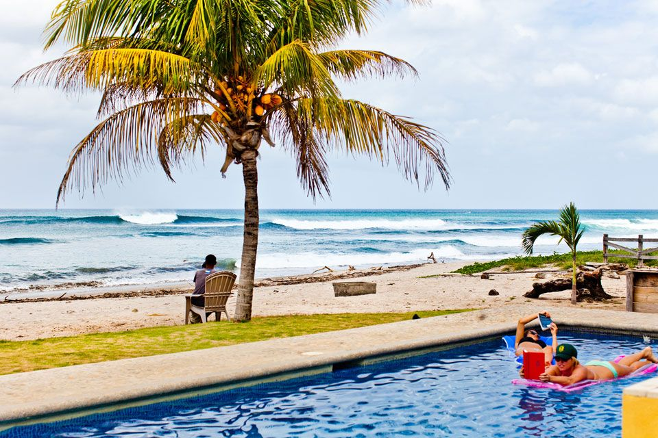 Mulcoy Travel Offers Surfing Vacations To Playa Colorado In Nicaragua Central America At Mark And Daves Surf Camp Also Canada Indonesia