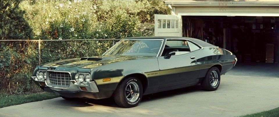 1972 Ford Gran Torino From Gran Torino 2008 Famous Movie Cars Cars Movie Tv Cars