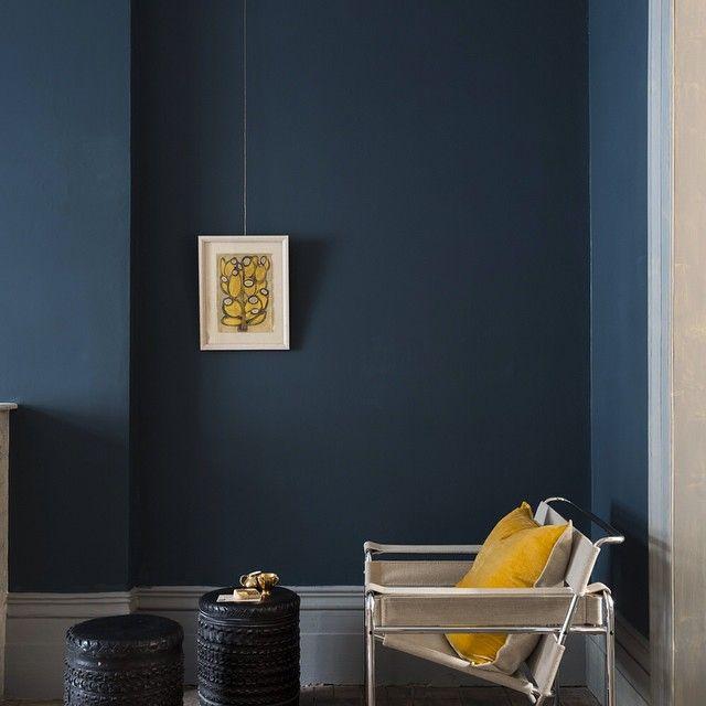 hagueblue project lorr hague blue farrow ball paint decor. Black Bedroom Furniture Sets. Home Design Ideas