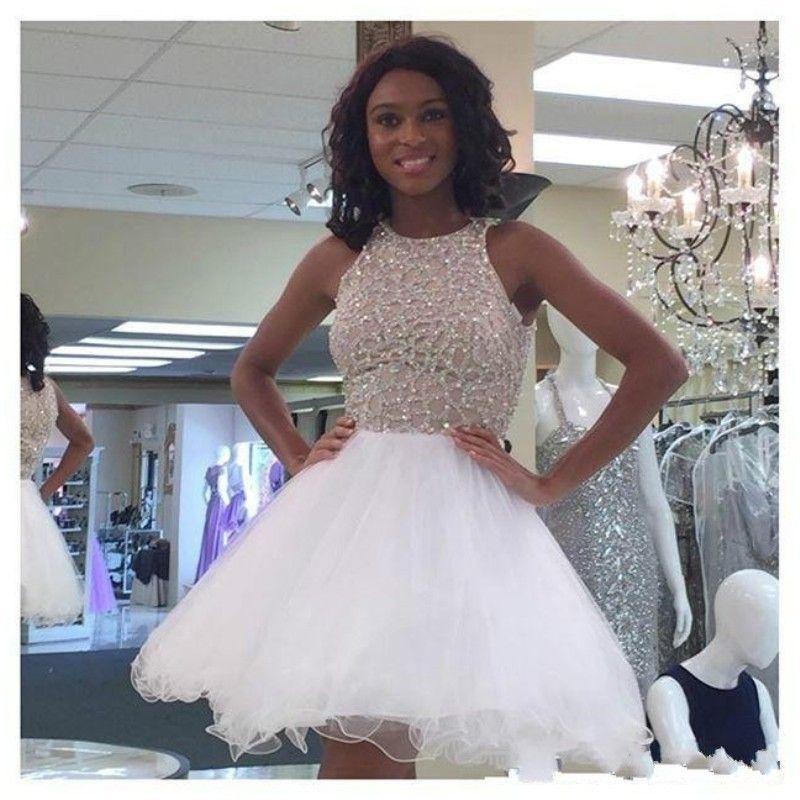 New Arrival Sleeveless Prom Dress,Tulle Evening Dress, Short