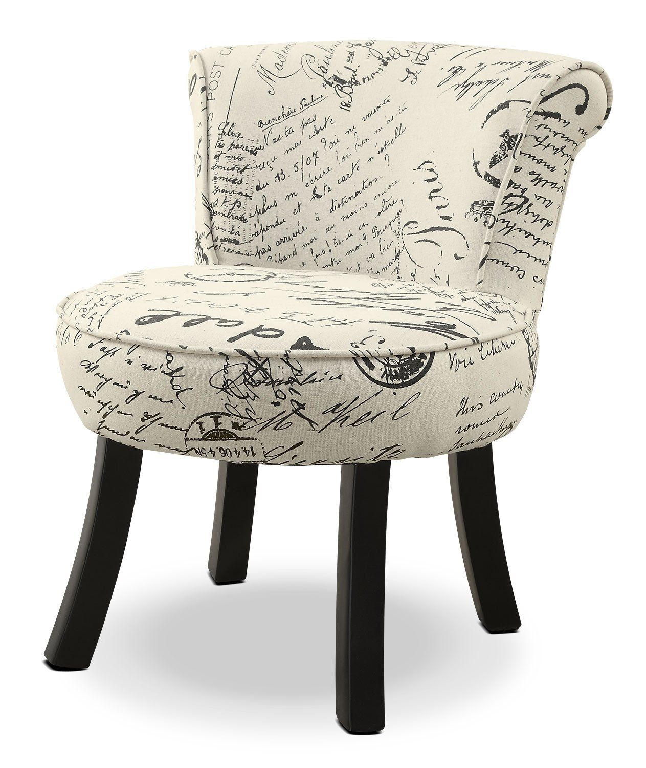 Outstanding Monarch Childrens Accent Chair French Script In 2019 Ocoug Best Dining Table And Chair Ideas Images Ocougorg
