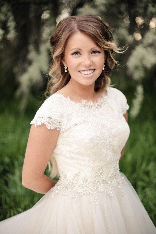 Exquisite Details - Modest Wedding Gown http://www.pinterest.com ...