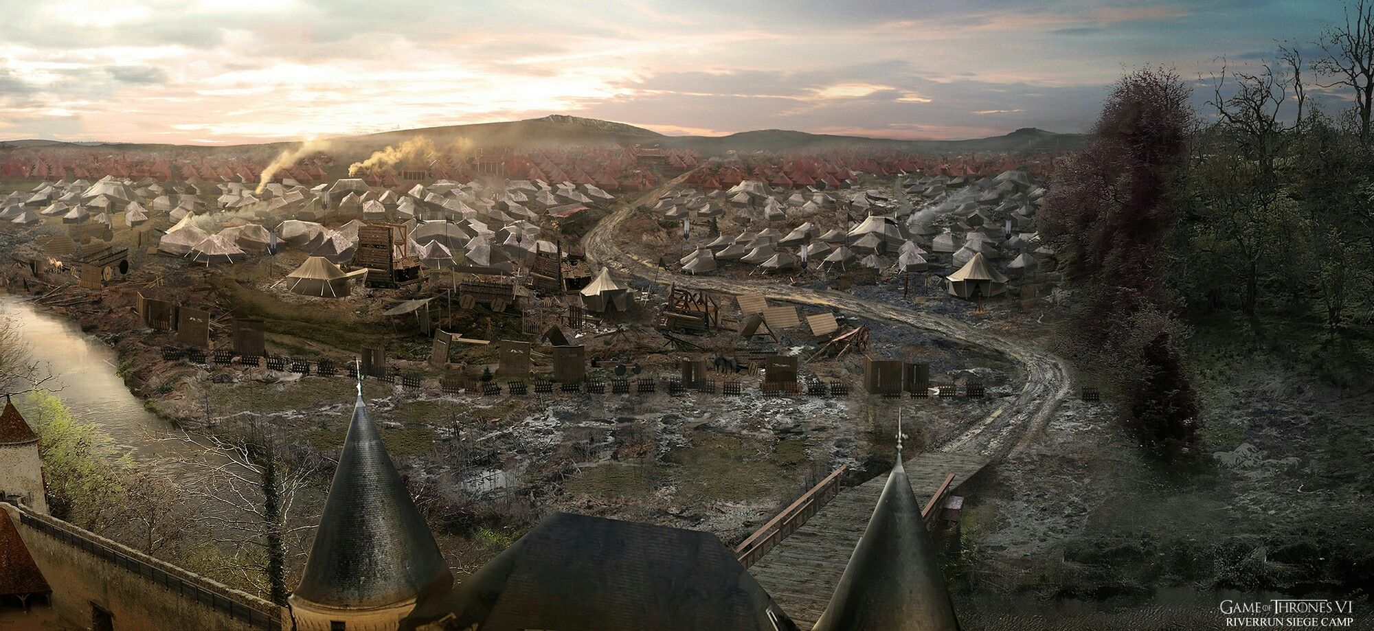 The siege at RiverRun