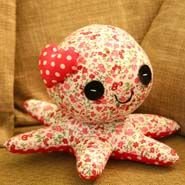 Pretty little Octopus Soft Toy For Her