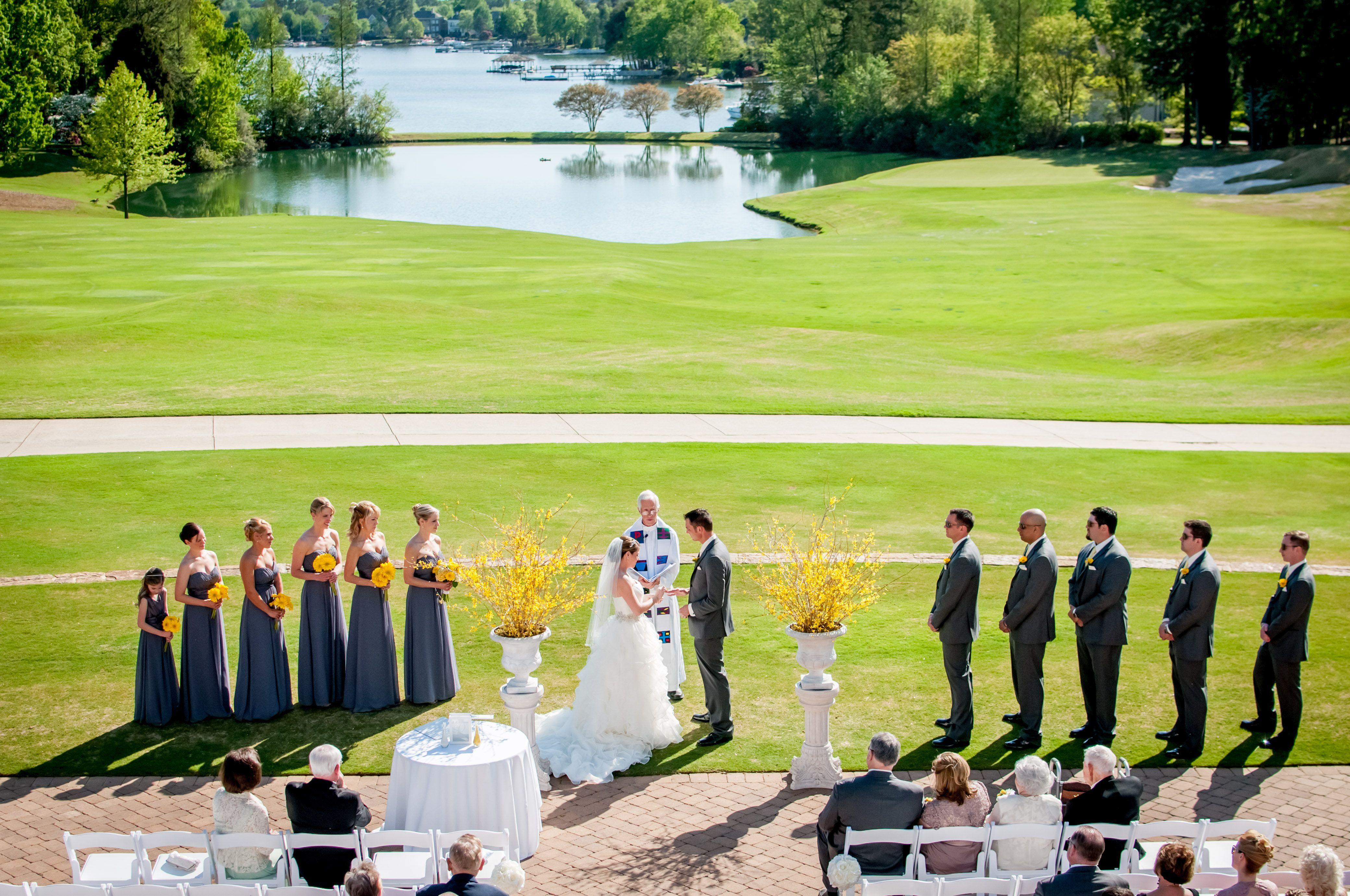 Outdoor summer weddings how to beat the heat wedding planning