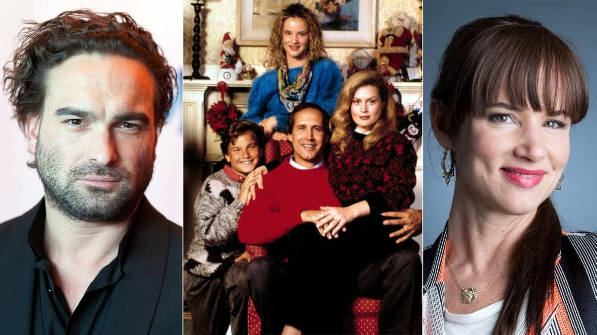 Johnny Galecki Christmas Vacation.Johnny Galecki And Juliette Lewis Photos Christmas Movie