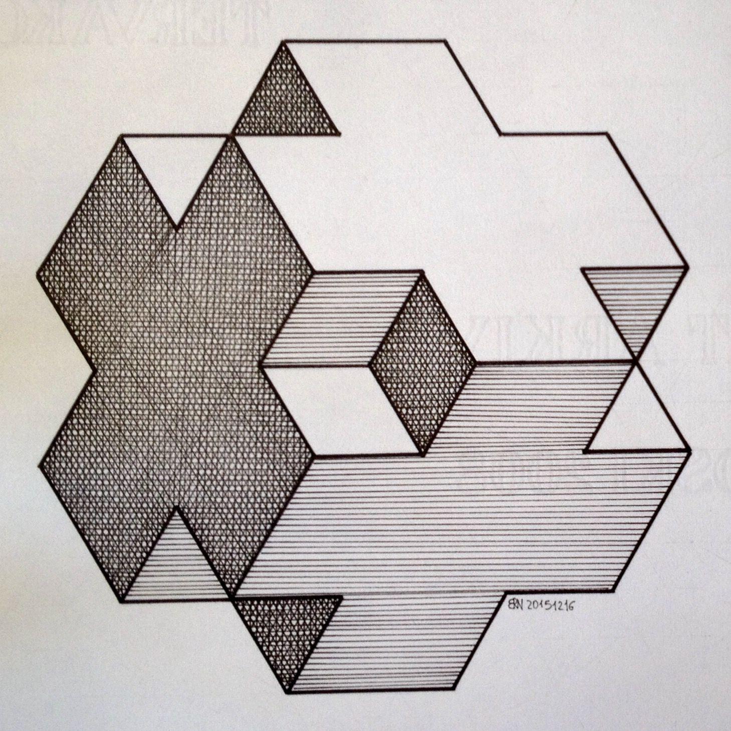 Solid Polyhedra Geometry Symmetry Pattern Pencil