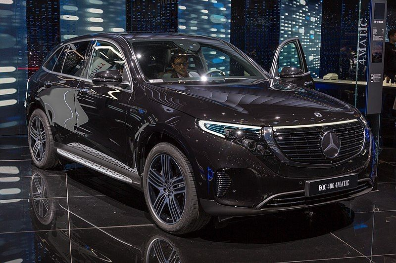 Mercedes Benz Eqc 400 2019 First From Mercedes Mercedes Benz Mercedes Benz
