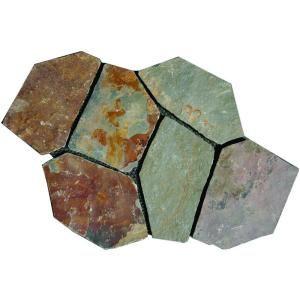 Ms International Santa Barbara Natural Stone Gold Meshed Flagstone