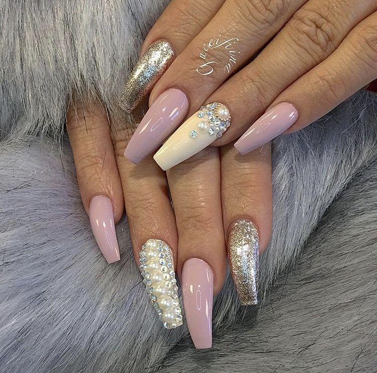 Pin by Tatiuana Gates on Nails   Pinterest   Coffin nails, Beauty ...