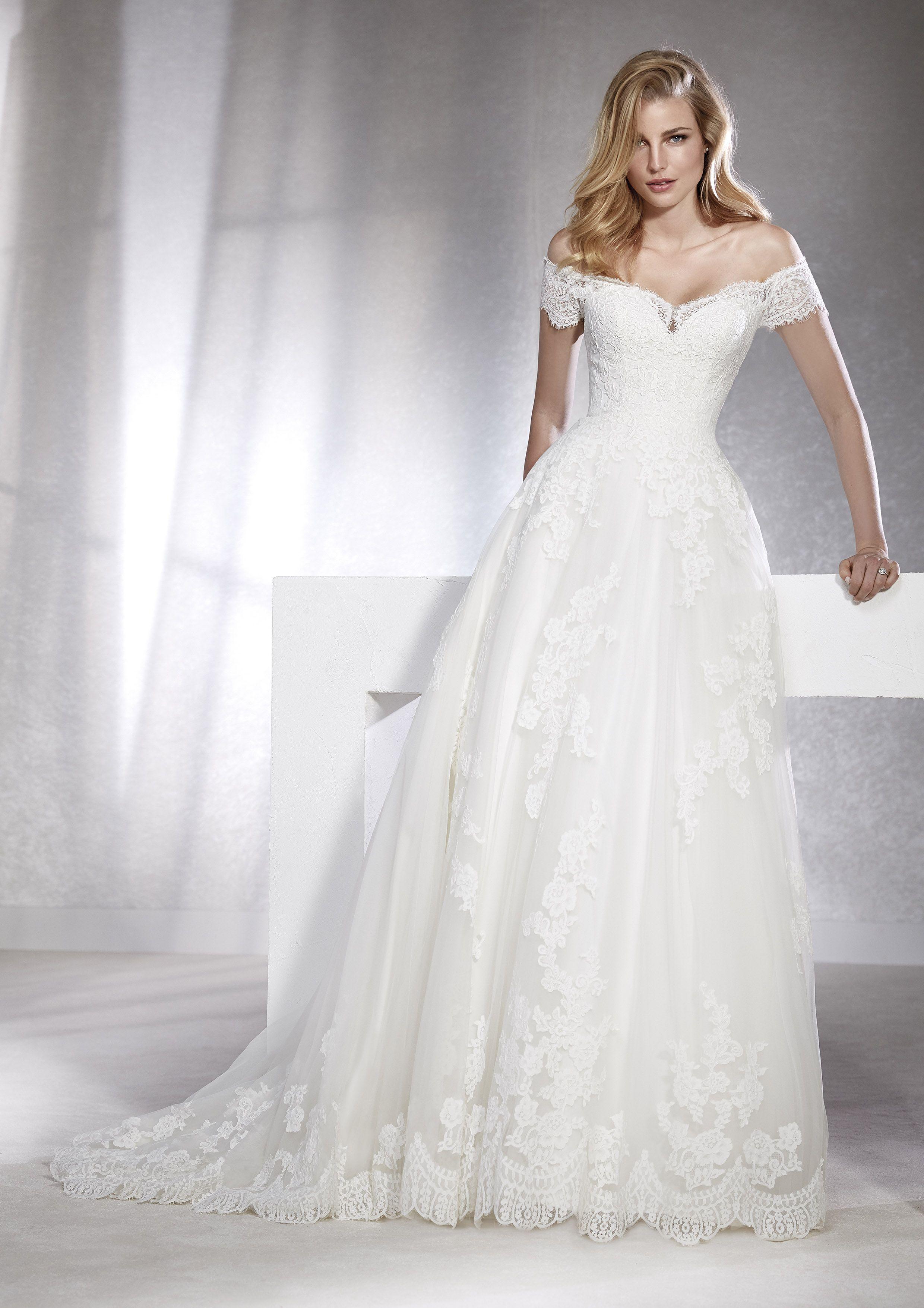 White One 10 Collection - FABIANA  Kleid hochzeit, Brautmode
