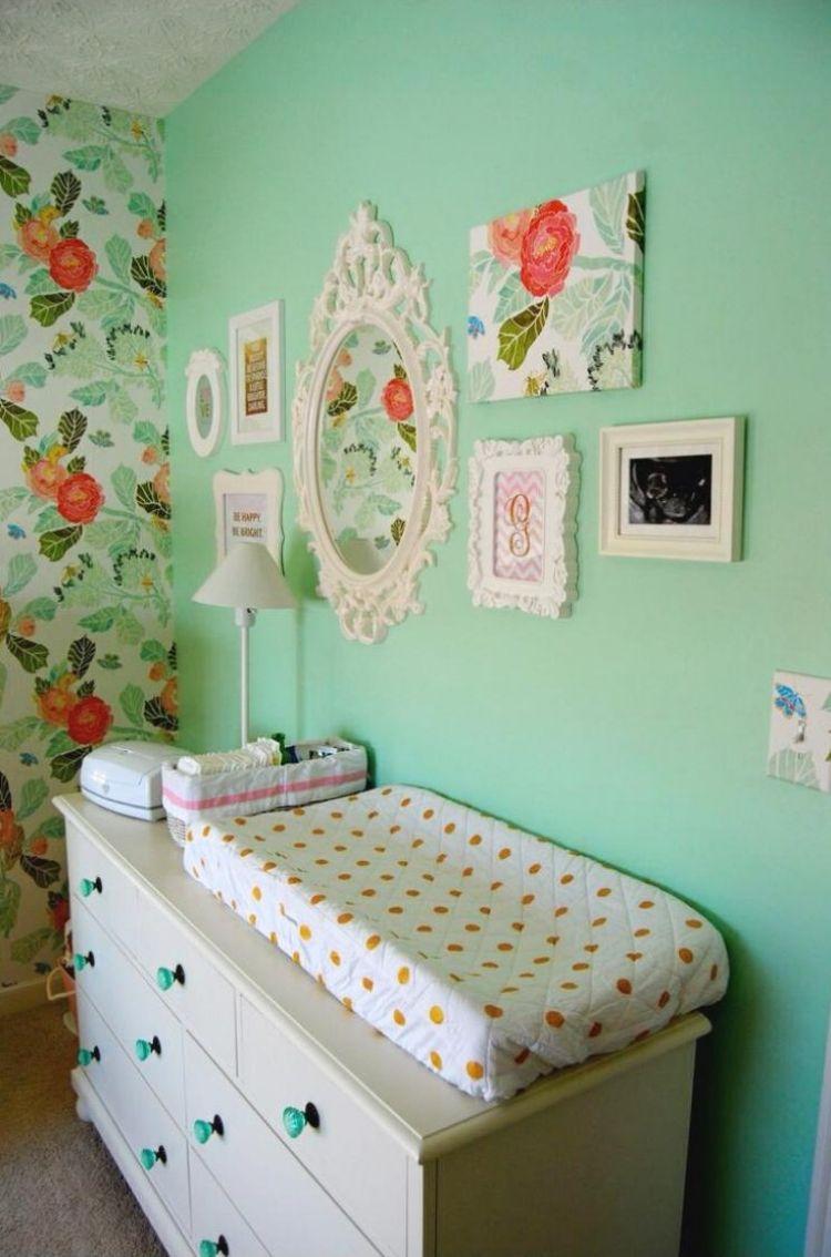 Kinderzimmer wandfarbe wandfarbe mintgrün für kinder und babyzimmer u  ideen babyzimmer