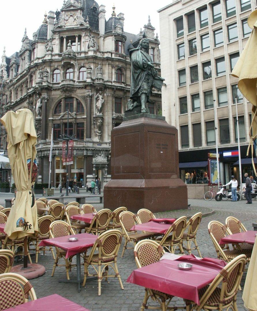 Antwerp, Meir Street , Belgium