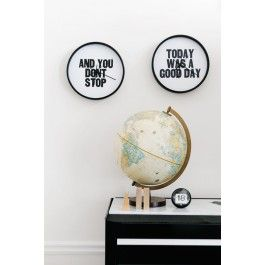 Blik Wall Decal - Today Was a Good Day - Clock