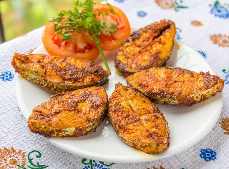 Surmai Tawa Fry Seer Fish Fry Kali Mirch By Smita Recipe Fried Fish Seafood Recipes Healthy Homemade Recipes