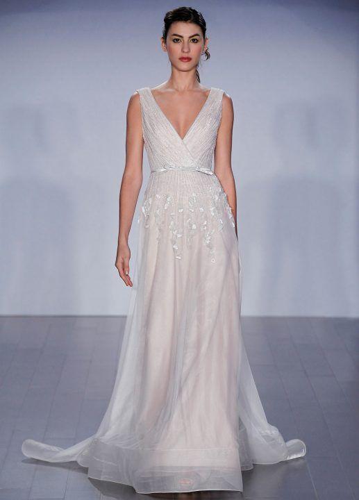 Jim Heljm Wedding Dresses.8505 Jim Hjelm By Hayley Paige Designer Jim Hjelm By