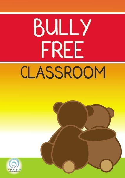 Bully Free classroom poster | Social skills and Phonics