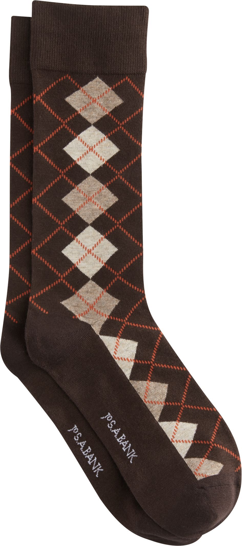 17f2b3cf9014 Jos. A. Bank Argyle Pattern Socks, 1-Pair   Products   Patterned ...