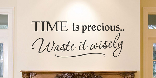 Quotes About Time Passing Time Is Precious Wall Graphics Quotation  Pinterest  Advice .