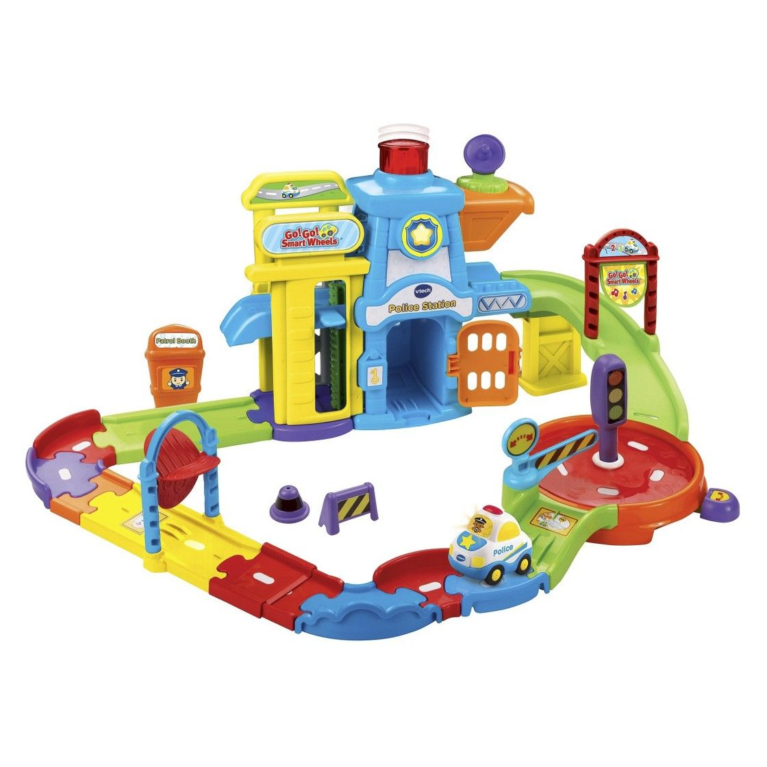 Vtech Go Go Smart Wheels Police Station Playset Playset Police Station Toys For 1 Year Old