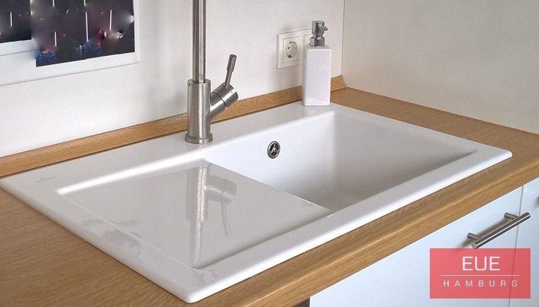 Keramikspule Subway 45 Becken Rechts Home Kitchen Sink
