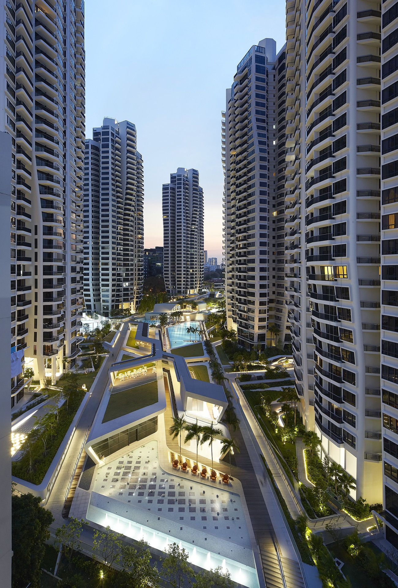 High Quality Du0027Leedon Condominium, Singapore   Zaha Hadid Architects