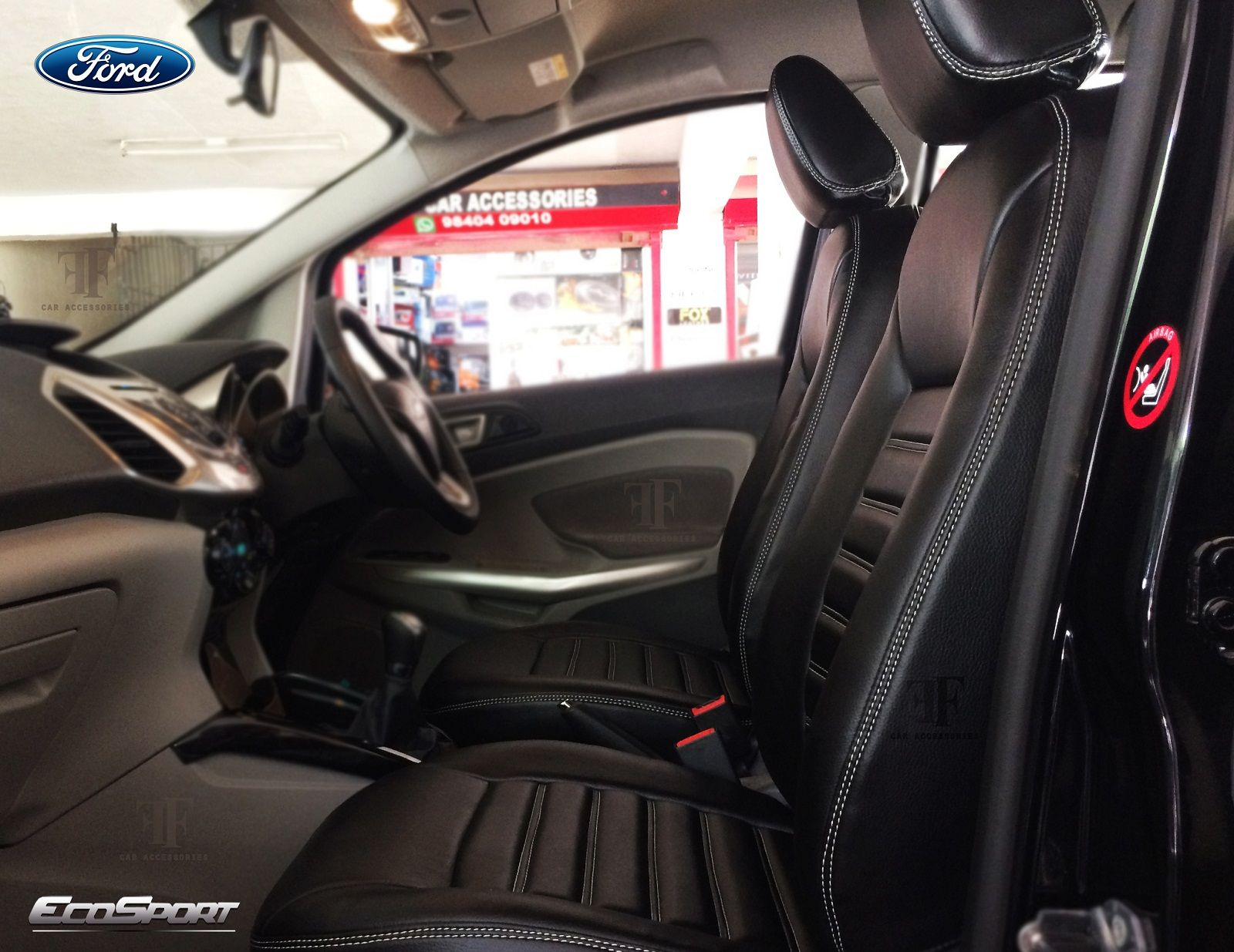 Tailor Made Seat Cover For Ford Ecosport Designed And Installed By