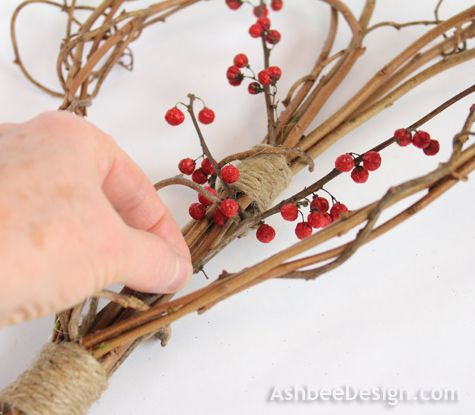 Ashbee Design: Twig Heart Tutorial