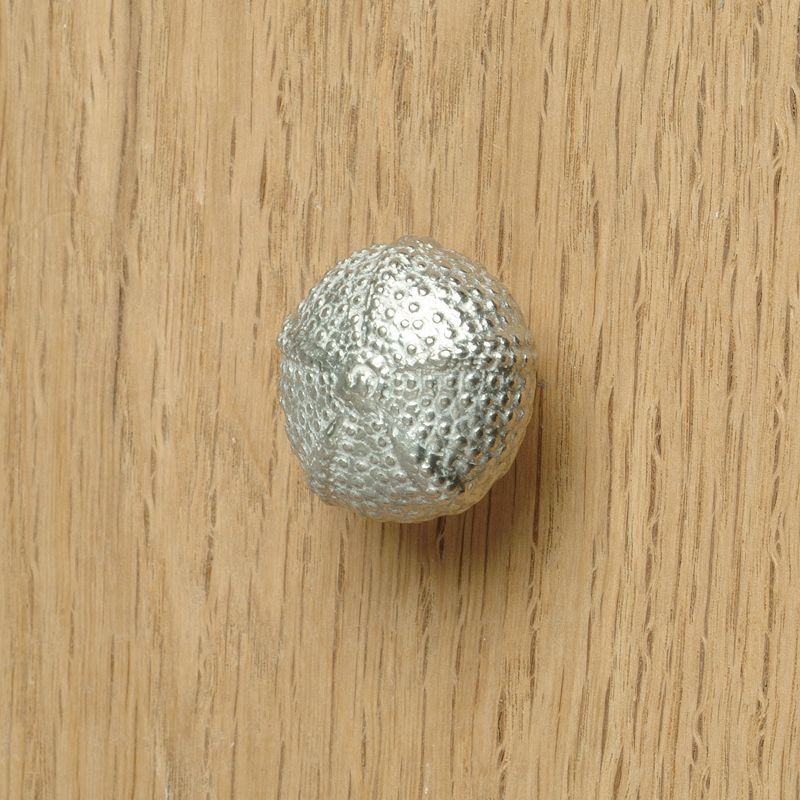 Sea urchin shell bathroom cupboard door handle,UK made drawer ...