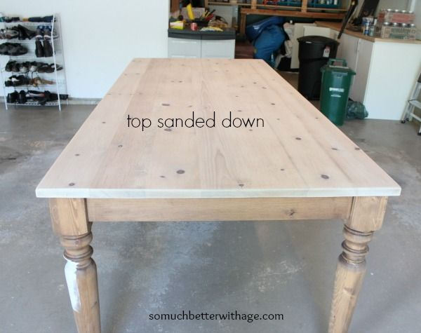 Amazing Dining Room Table Makeover