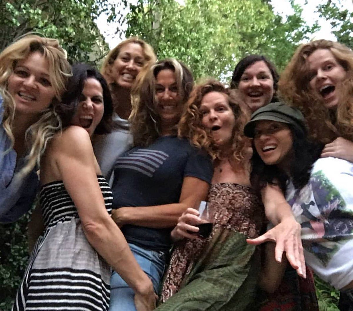 Lana Parrilla And Friends Lana Parrilla The Queen Is Dead Spin City