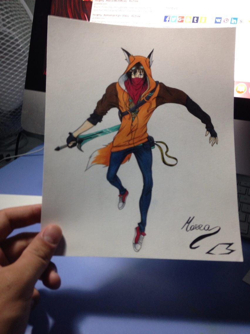Fox boy