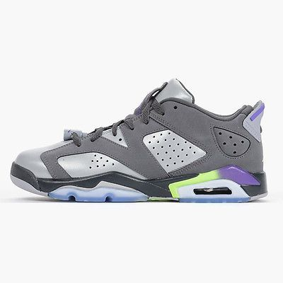 8acd2c05c40a3 Nike Air Jordan 6 VI Retro Low Gs Kids 768878-008 Ultraviolet Shoes Youth  Sz 3.5