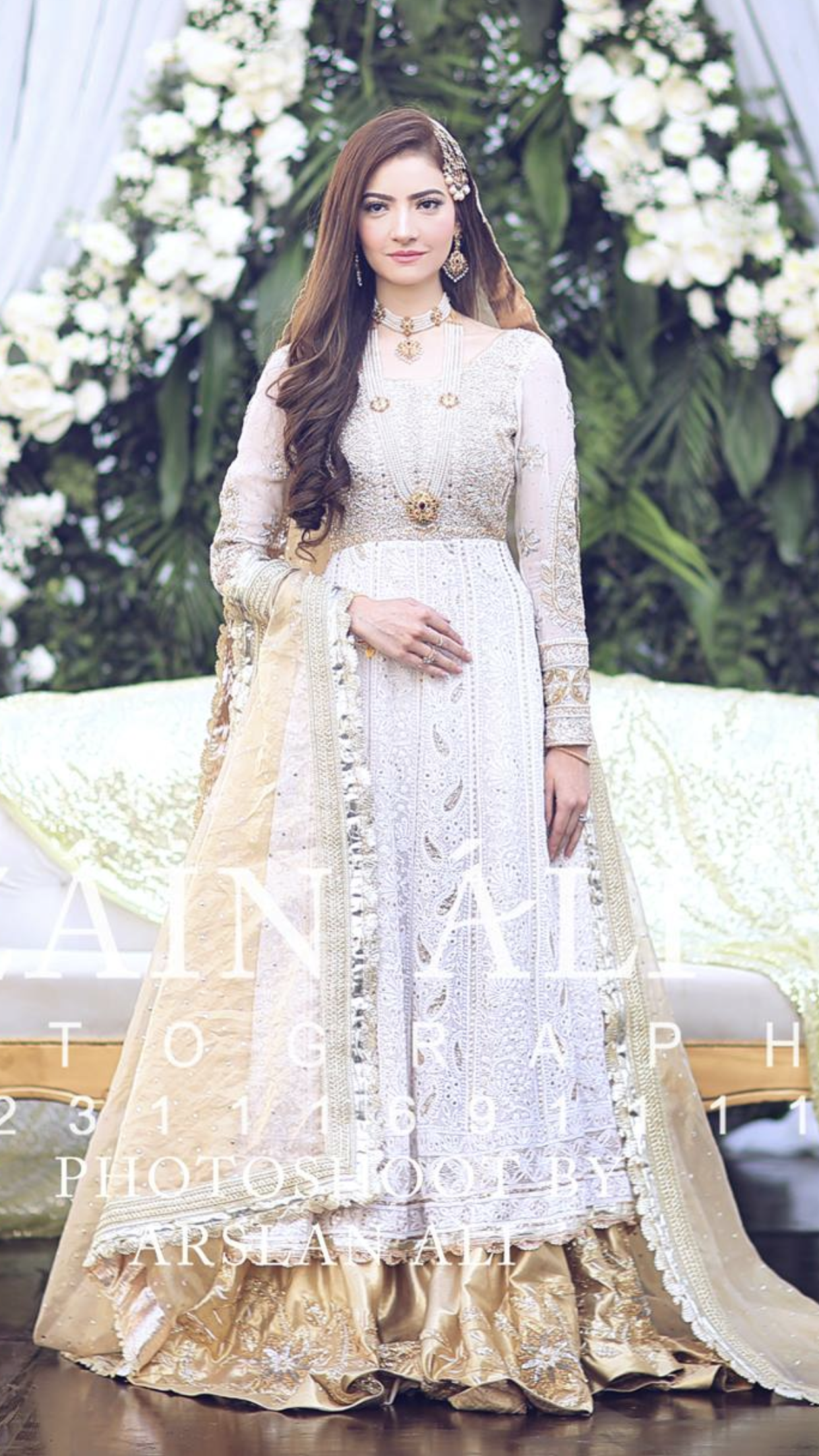 Nikkah Bride With Images Pakistani Wedding Outfits Pakistani