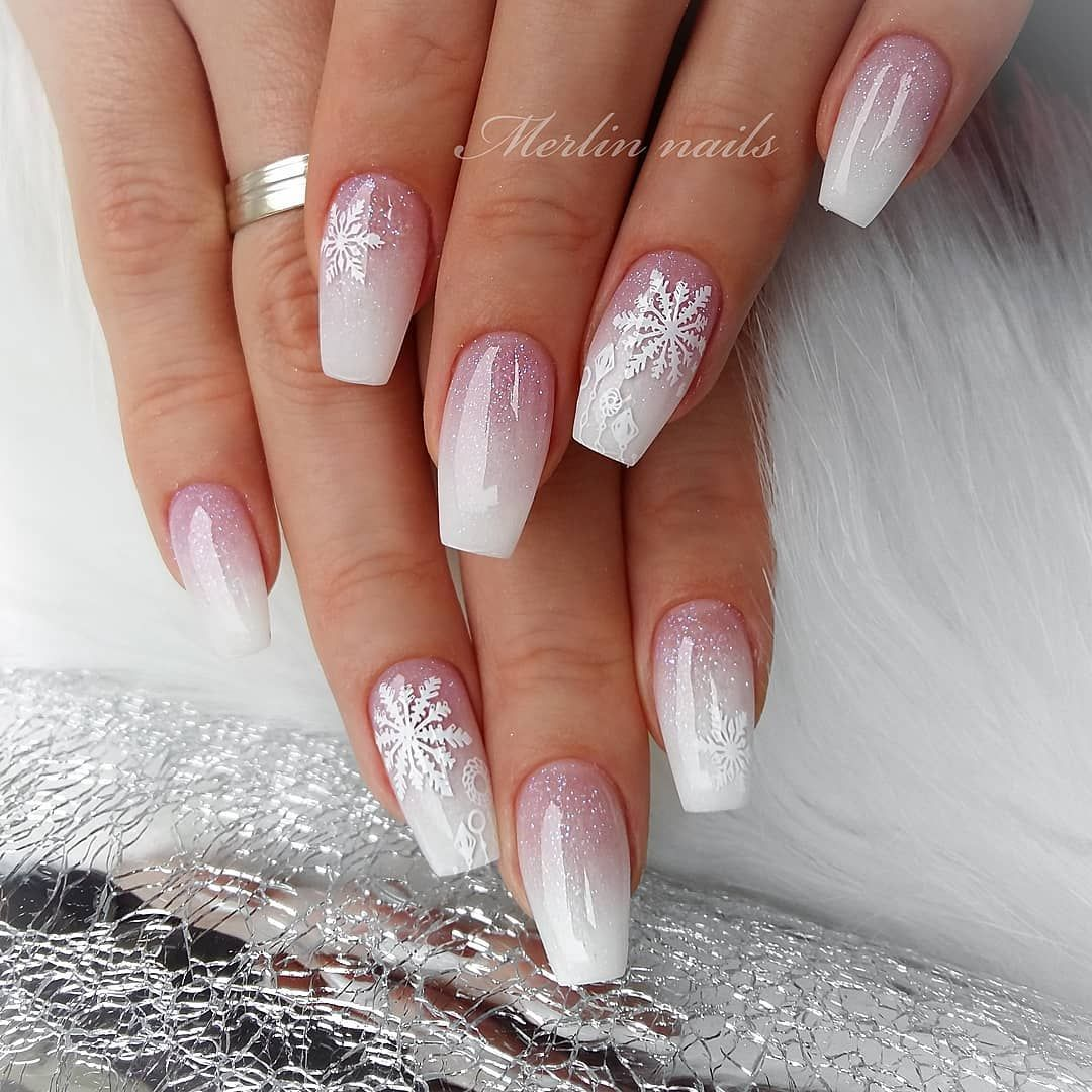 100 Latest Nail Trends For Winter 2020 Nail Art Design Ideas For 2020 In 2020 Winter Nails Acrylic Christmas Nails Easy Trendy Nail Art Designs