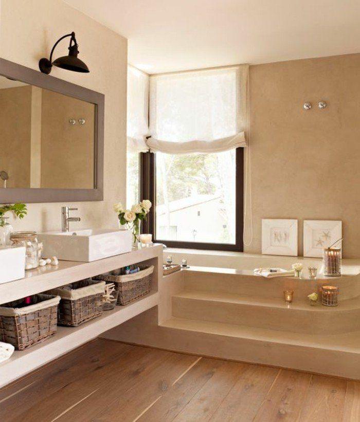 Comment créer une salle de bain zen? | Couleur beige, Meuble salle ...