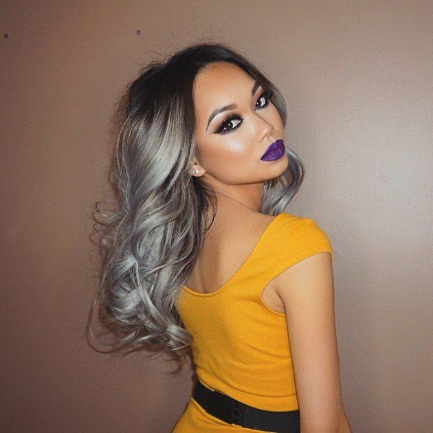 The Grey Hair Trend Is Huge For Spring Summer 2015 Fashion