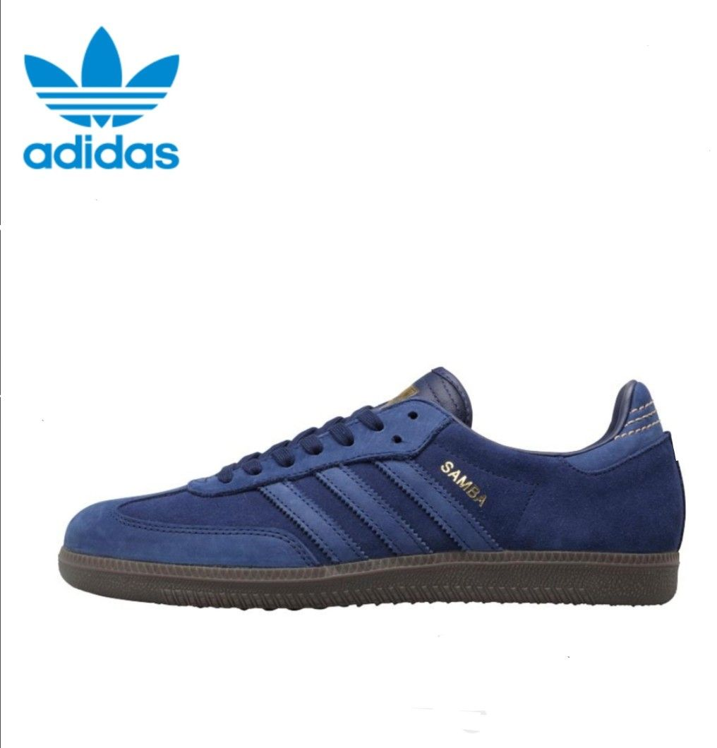 online store c8ed8 92b21 Adidas Samba in navy blue - old school classic with the looks of the new  Adidas - CP Company Samba release.