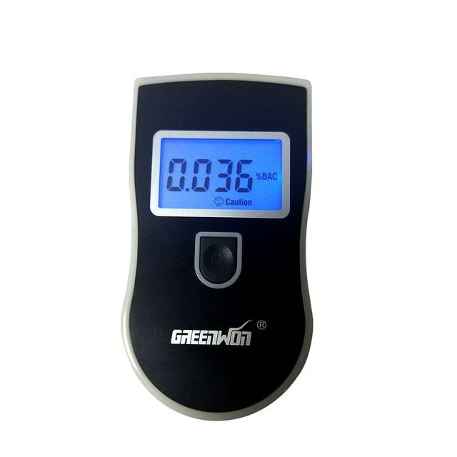 Personal Breathaliser Kit Alcohol Tester Portable Driving Drivers Safety