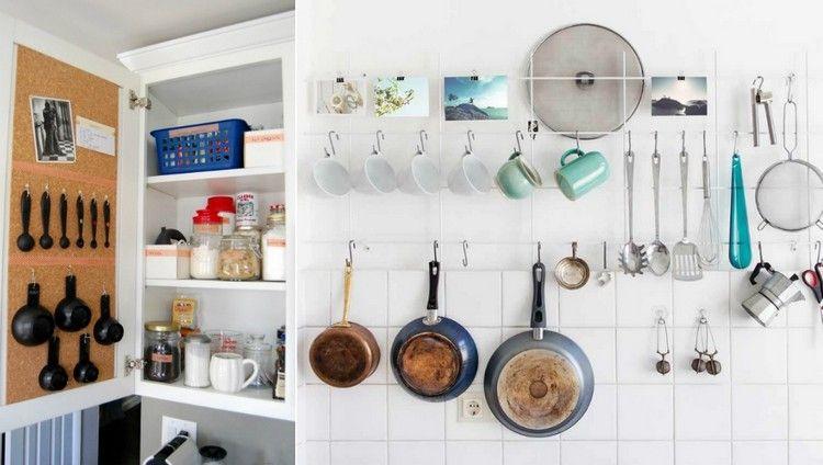 Tricks für mehr Stauraum in der kleinen Küche