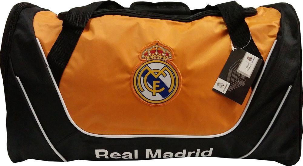 7cad99f70183 Real Madrid FC Soccer Core Structured Duffel Bag Backpack Cinch Bag Sack   rhinox  RealMadrid