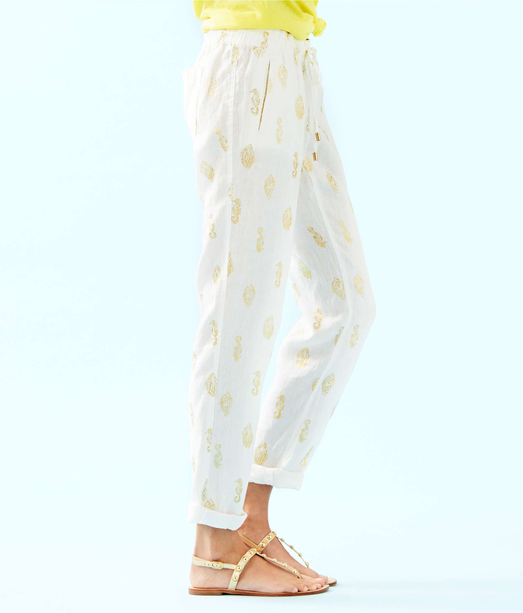 Lilly Pulitzer 31/' Aden Linen Pant