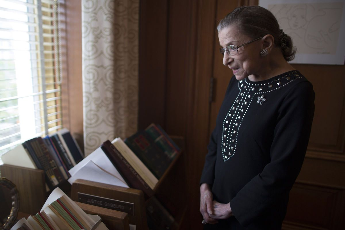 ruth bader ginsburg thinks americans are ready for gay marriage americans are prepared to accept a u s supreme court ruling legalizing same sex marriage justice ruth bader ginsburg said pointing to what she described