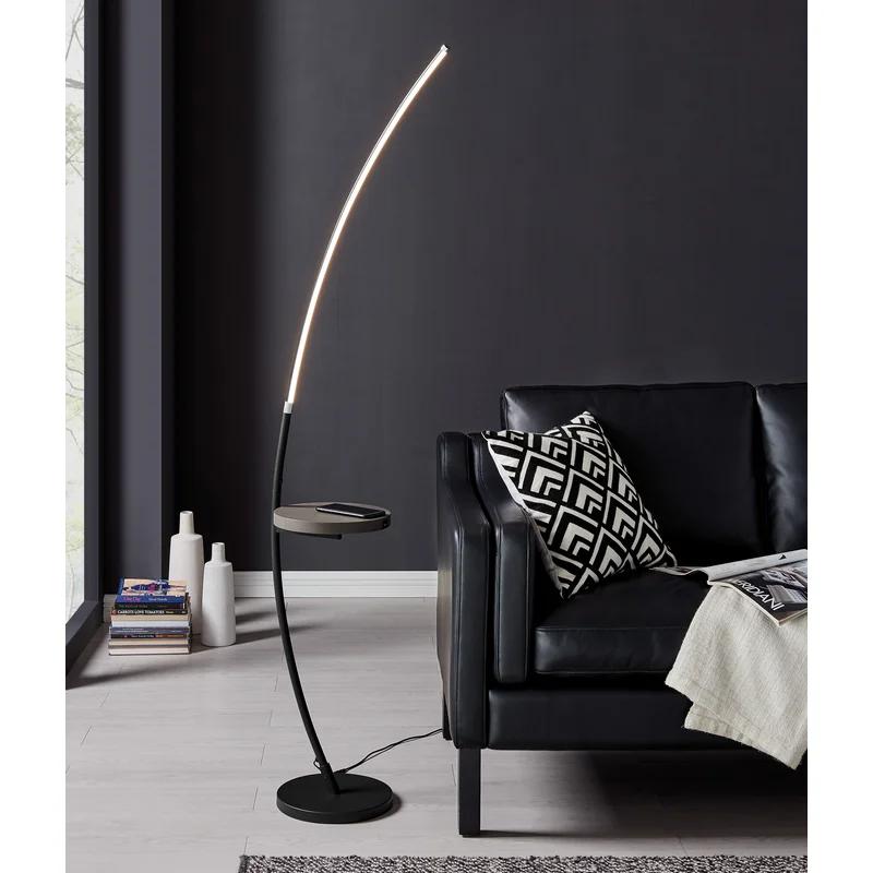 Seine 68 Led Tray Table Floor Lamp In 2021 Floor Lamp Table Led Floor Lamp Floor Lamp